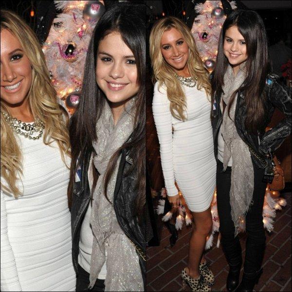 Selena invité A la soirée '' Blondies Girls '' De Ashley Tisdale !