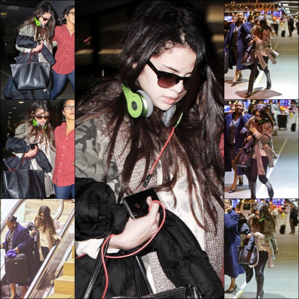 Selena Gomez Conference + Aeroport