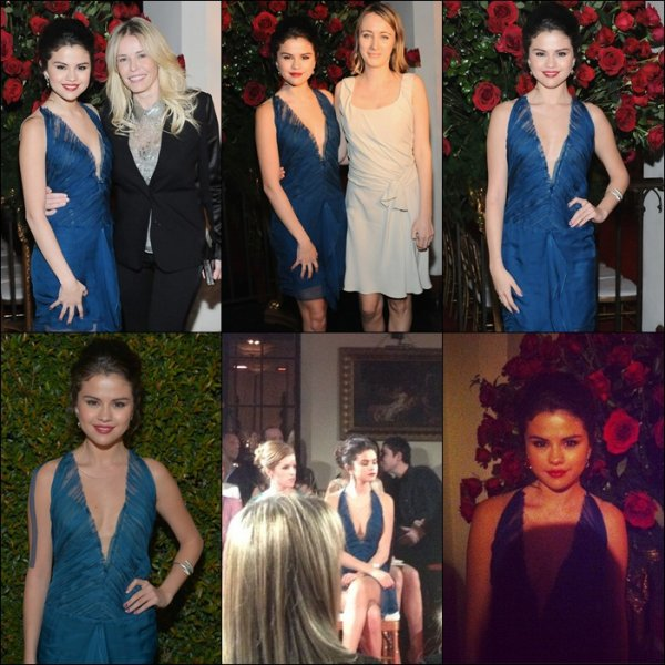 Selena a une charité de Vogue + Los Angeles