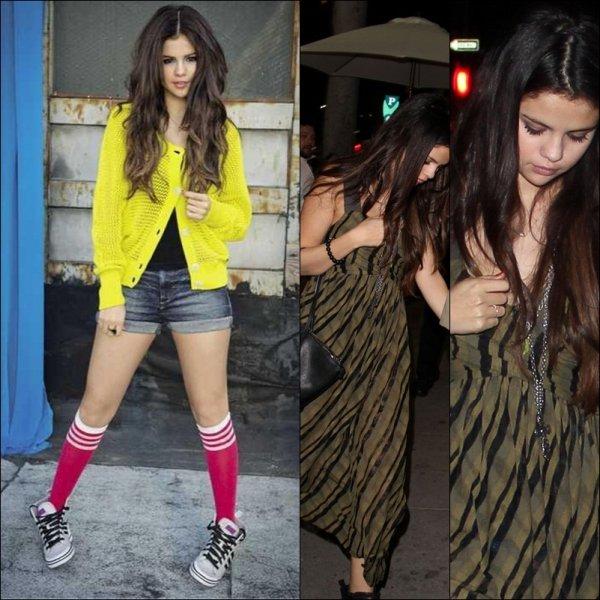 Selena Gomez gros top !
