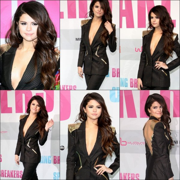 Le 19 Fevrier 2013 : Selena GOMEZ Spring beacker de Berlin
