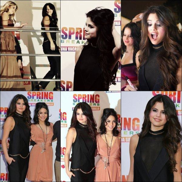 Selena Gomez au avant premièere de quelle que pays ( ville )