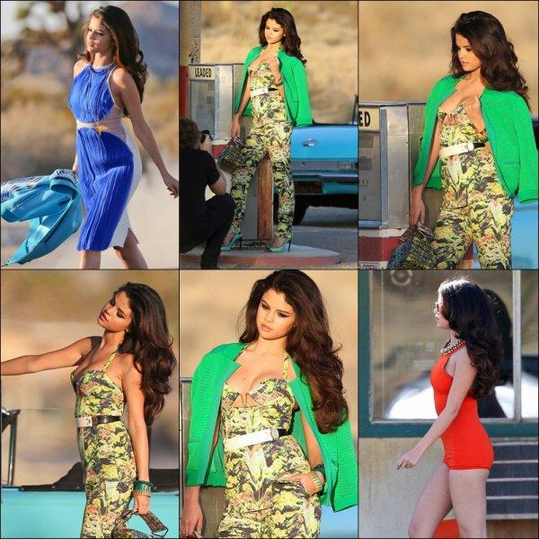 Selena et son photoshootpour son nouveai clip + le 4 mars selena a Grabs