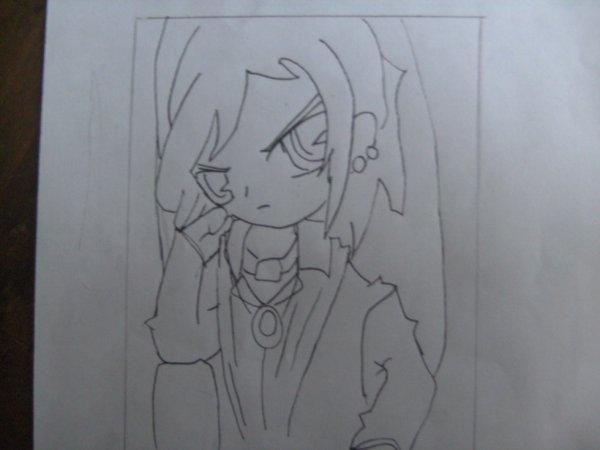 G réussi a dessiner Axel !!