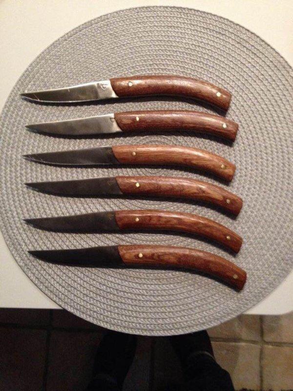 Services de couteaux pour madame