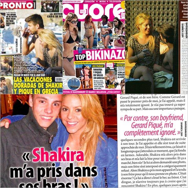 5/O7/11 : Shakira est apparue aux côtés de Quincy Jones au cours d'une émission spéciale. Le but était alors d'obtenir des fonds afin de venir en aide aux sans abris de Colombie, suite auxdéluges de pluies. Shakira a l'air touchée, impliquée et terriblement émue.