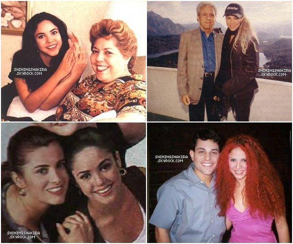 En attendant les news je vous propose de découvrir (ou pas) des photos de Shakira en famille.