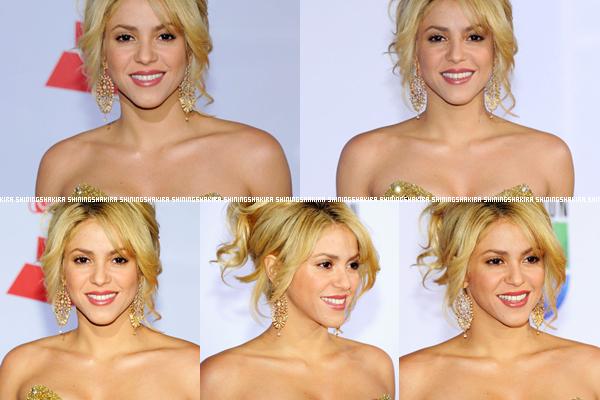 10.11.12 : Shakira était à la cérémonie des Latin Grammy Awards. Elle est parfaite.