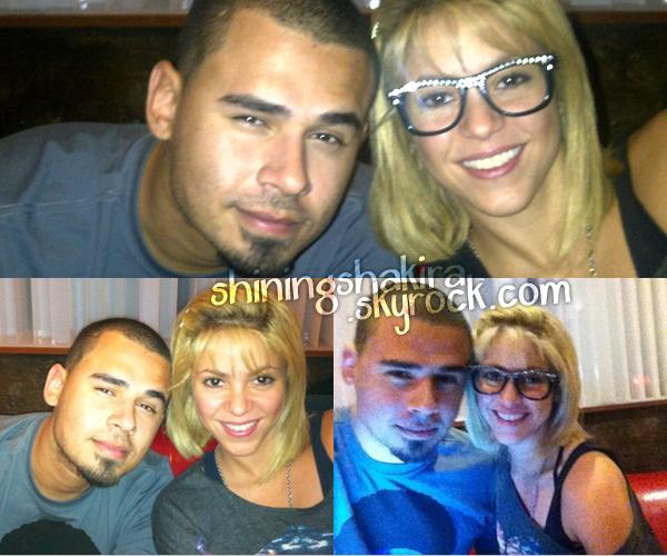 05.03.12 Shakira en studio d'enregistrement à Barcelone en présence d'Afrojack. (Apparances)