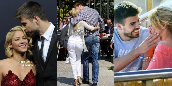 Re(découvre) plusieurs photos de Shakira et Gérard, ils sont magnifiques ensemble, quelle est ta photo préférée? (Flashback)