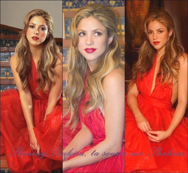 """13.04.12 : Shakira Mebarak participe à la """" Business Sumit """" elle est canon ! ♥ Que dire appart que cette femme est magnifiquement belle et tellement généreuse."""