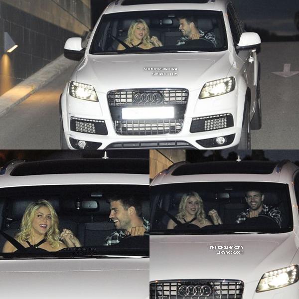 15.05.12 : Shakira performe au « Univision Upfront 2012 » à New York ! ♥ Après s'être déhanchée sur « Loca » elle a quittée par la suite le théâtre « New Amsterdam ».