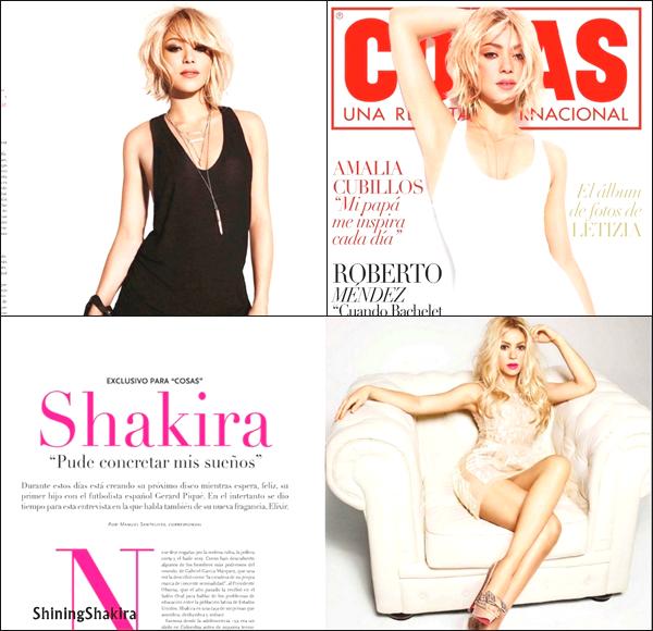 01/10/12 : Shakira en interview en Allemagne sur RTL. Elle a annoncé qu'elle attend un petit garçon... Tu es ravie pour elle ?  Félicitations à elle et Gérard. N'est t'elle pas magnifique? ♥