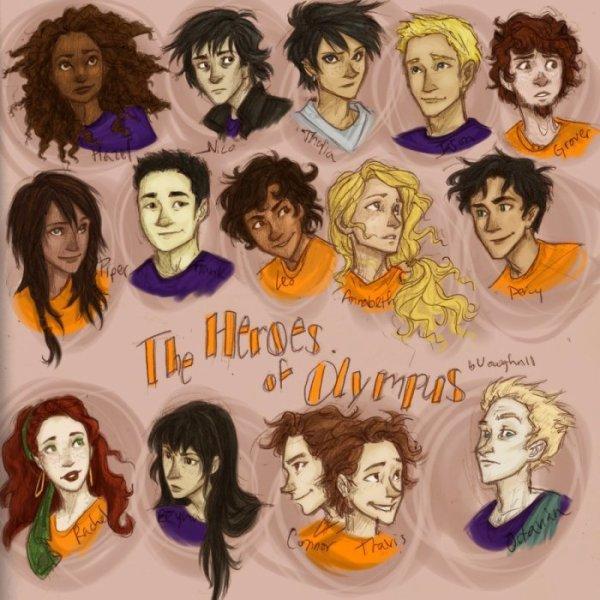 Heros de l'Olympe