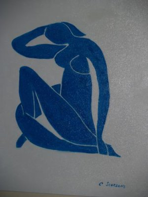 le nu bleu (copie de Matisse)
