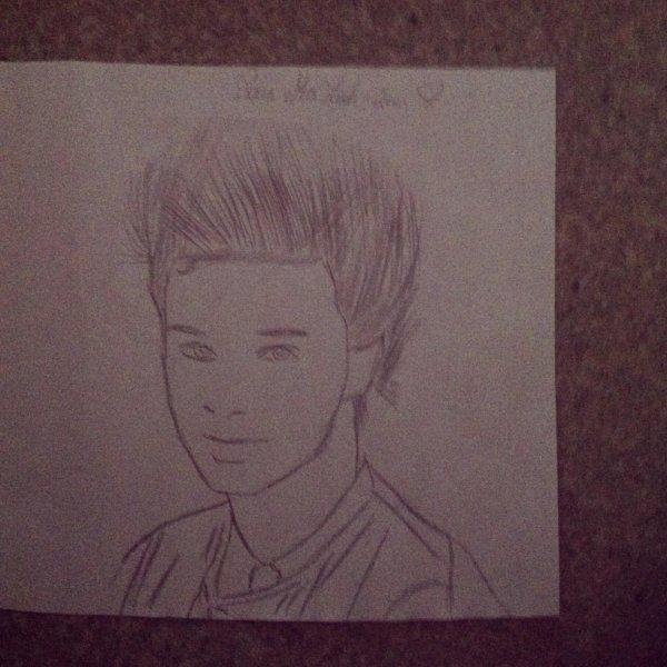 Un dessin fait pour une amie qui vaut de l'or j'ai mis tout mon c½ur à le dessiner Sacha tran :)