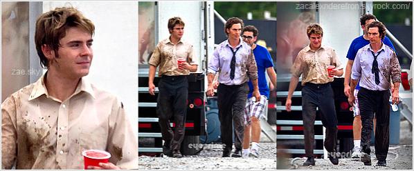 . 09/08/11 : Zac a été vu sur le set de son nouveau film, « The Paperboy » au coté de M. McConaughey.. The Paperboy, dont la sortie est prévue pour 2012 est un remake d'un film du nom même nom sorti en 1995.  Le thriller racontera la vie d'un reporter de Miami Times jusqu'à ce qu'il retourne en Floride dans sa ville natale pour enquêter sur la détention et la mise à mort d'un détenu. Pour ce film, Efron jouera au côté de Matthew McConaughey (voir les photos) et Nicole Kidman ! .
