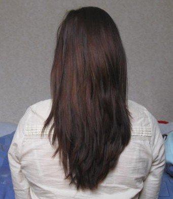 Mes cheveux Décembre 2010 - Janvier 2011.