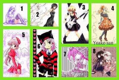 Vêtements Manga !!
