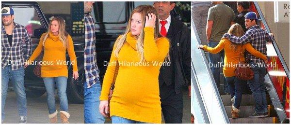 17 FEVRIER : Hilary quittant les studios d'enregistrement. Ca bosse dur pour le nouvel album :)  19 FEVRIER : Les soeurs Duff se faisant plaisir à Fred Segals, dans Los Angeles. Puis, avec son mari Mike dans un centre commercial.