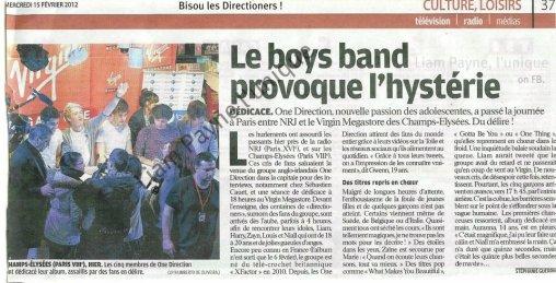 Le Boys Band provoque l'hystérie !!