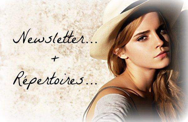 Newsletter et répertoires