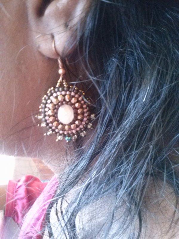 boucles d'oreilles de Lili