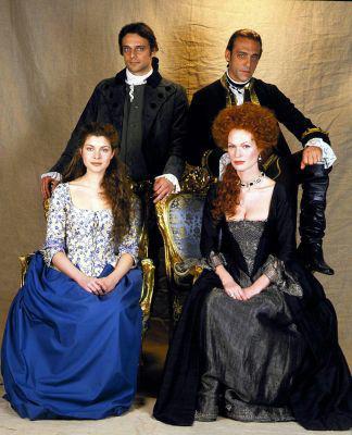 Les acteurs d'Elisa di Rivombrosa