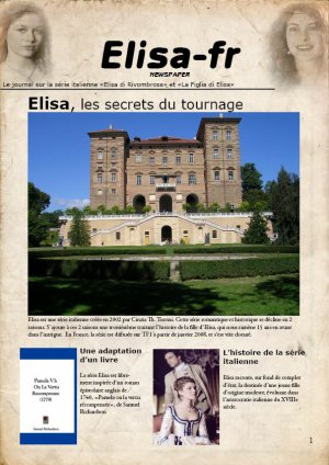 Les produits dérivés d'Elisa di Rivombrosa + Un cadeau