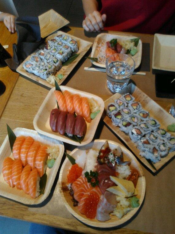 Aujourd'hui c'est sushi !