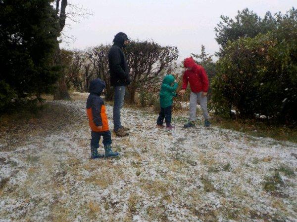 De la neige !