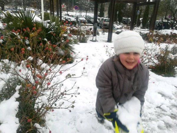 De la neige encore !