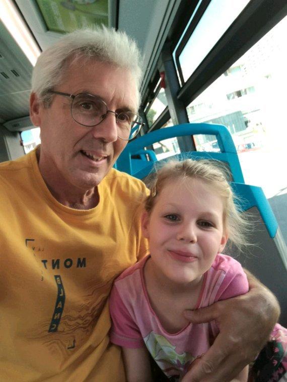Une journée avec Papa