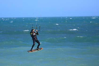 EN KITE SURF JUILLET 2013