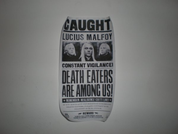 Caught de Lucius Malfoy