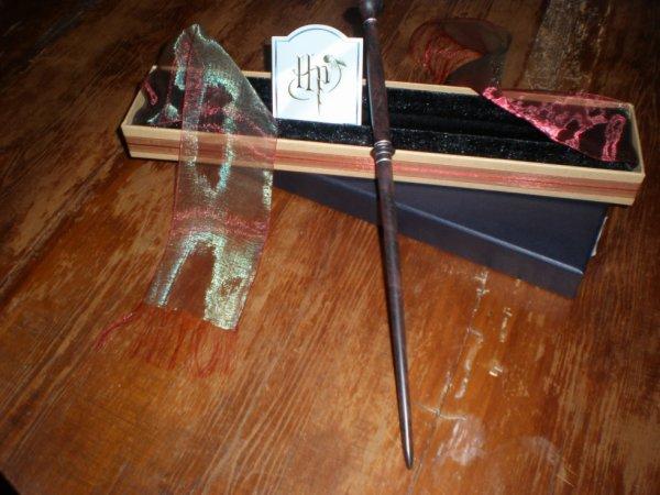 :D $) ^^ La baguette de Fenrir Greyback en boîte Oliivanders :D ^^ $)