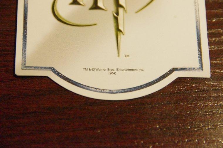 Première partie du première article détaillé de la baguette de Fenrir Greyback en boîte Ollivander .