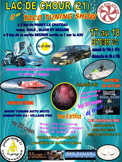 5 eme taco tuning show 17 et 18 septembre 2011