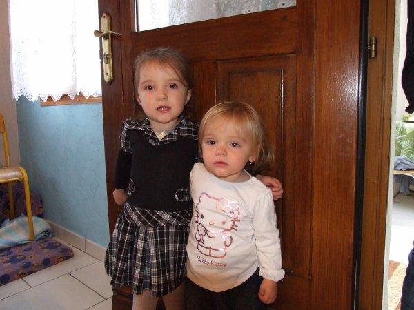 Léa et Margaux