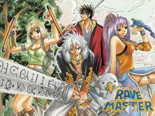 Rave, l'autre manga de Mashima !!
