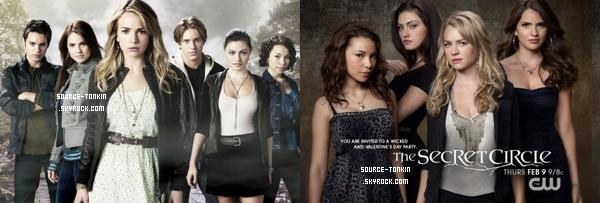 Poster The Secret Circle de début de saison et mi-saison. Quel est votre favoris? + Générique