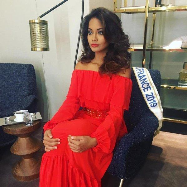 Miss France 2019: Vaimalama Chaves