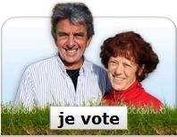 Svp votez pour Jean-Michel et Catherine!