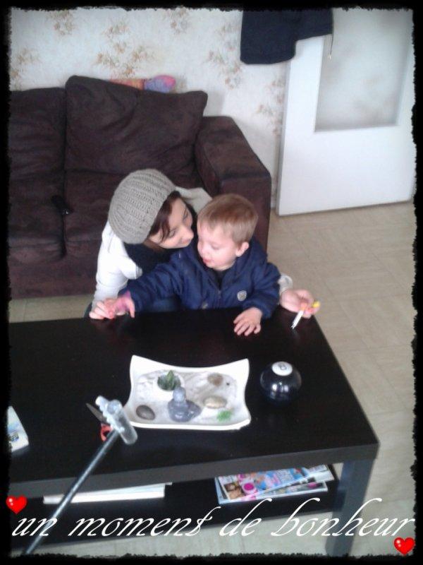 une maman & son fils