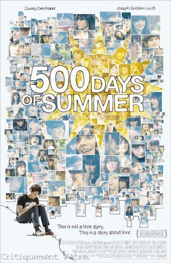 Critiquement Vôtre Présente. 5oo Days of Summer.