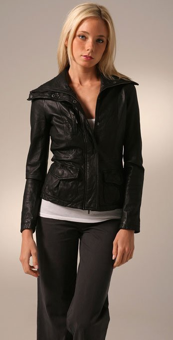 Girl Leather Jacket - Jacket
