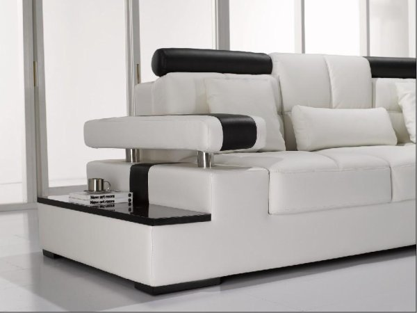 Modern leather sofas contemporary sofa latest set