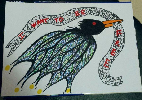 I want to be free - Qu'est-ce que la liberté ? Est-on jamais libre ? Doit-on être enchaîné d'un côté pour goûter à la liberté de l'autre ?