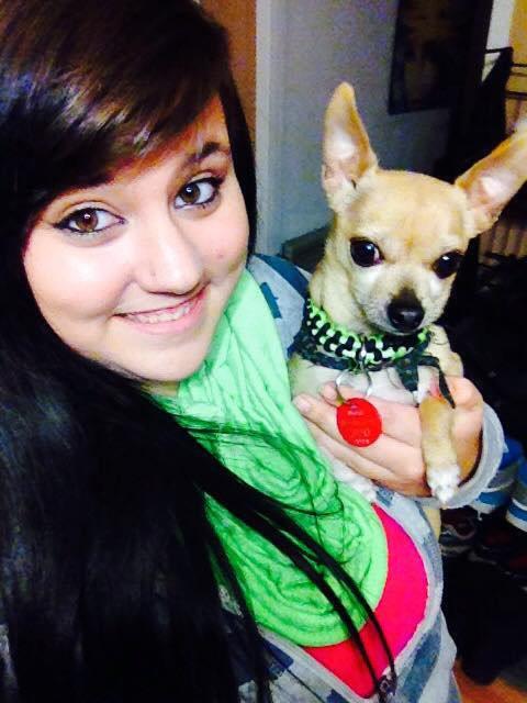 Mon chien et moi <3