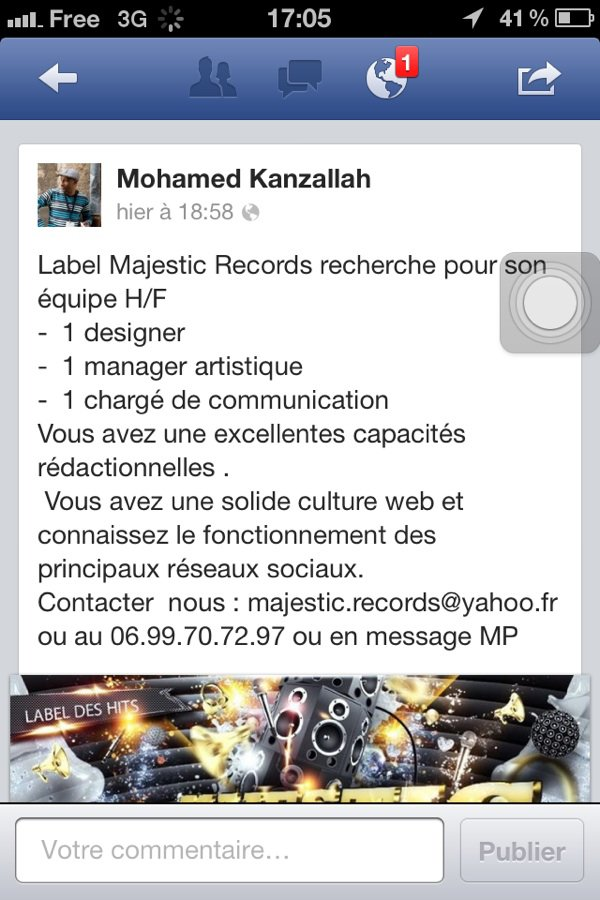 Label Majestic Records recherche .....